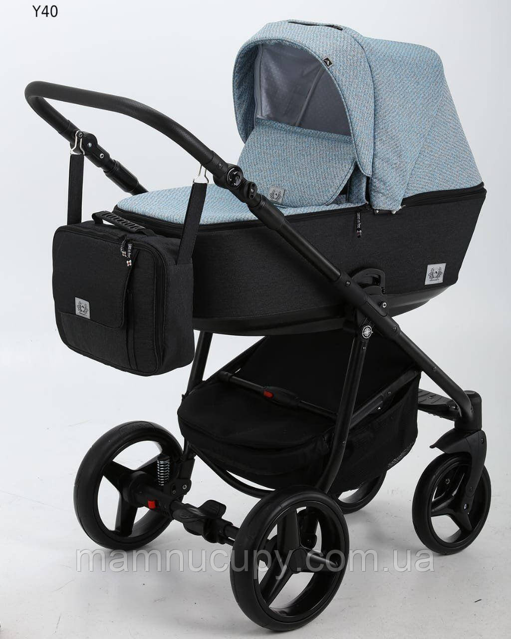 Детская универсальная коляска 2 в 1 Adamex Reggio Y40 (адамекс реджио)