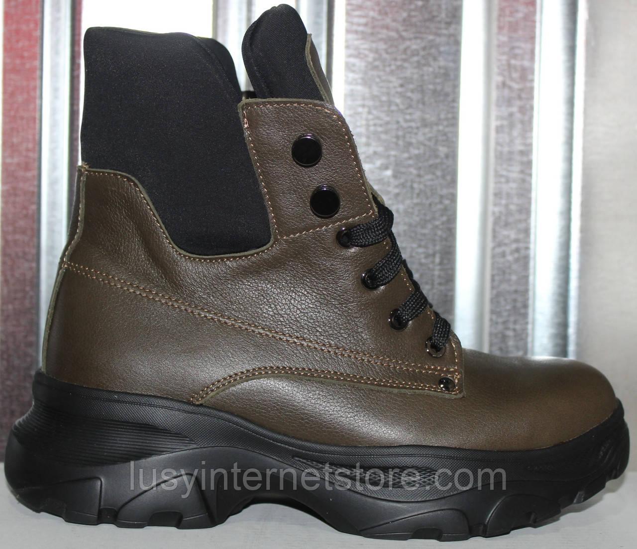 Ботинки женские зимние кожаные от производителя модель РИА-2-2