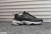 Кроссовки мужские Nike Tekno Black White. ТОП КАЧЕСТВО!!! Реплика класса люкс (ААА+), фото 1