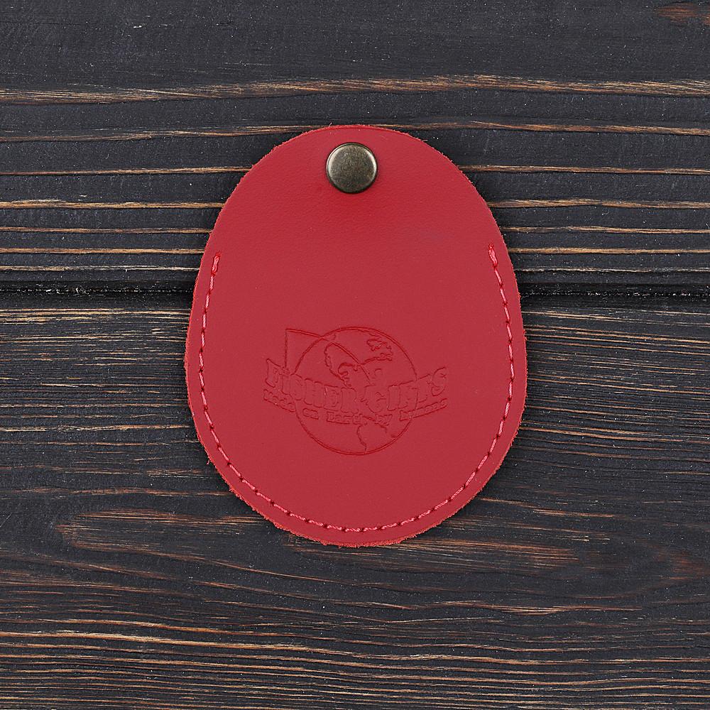 Монетниця v.1.0. Fisher Gifts STANDART червоний (шкіра)