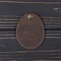Монетница v.1.0. BUSSINES олива 2 (кожа)