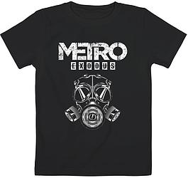 Детская футболка Metro Exodus (чёрная)