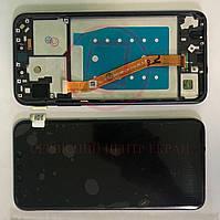 Дисплей модуль для Huawei P Smart Plus INE-LX1 INE-L21 / Nova 3i INE-LX2 в зборі з тачскріном, рамкою, чорний