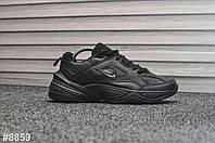Кроссовки мужские Nike Tekno Triple Black. ТОП КАЧЕСТВО!!! Реплика класса люкс (ААА+), фото 1