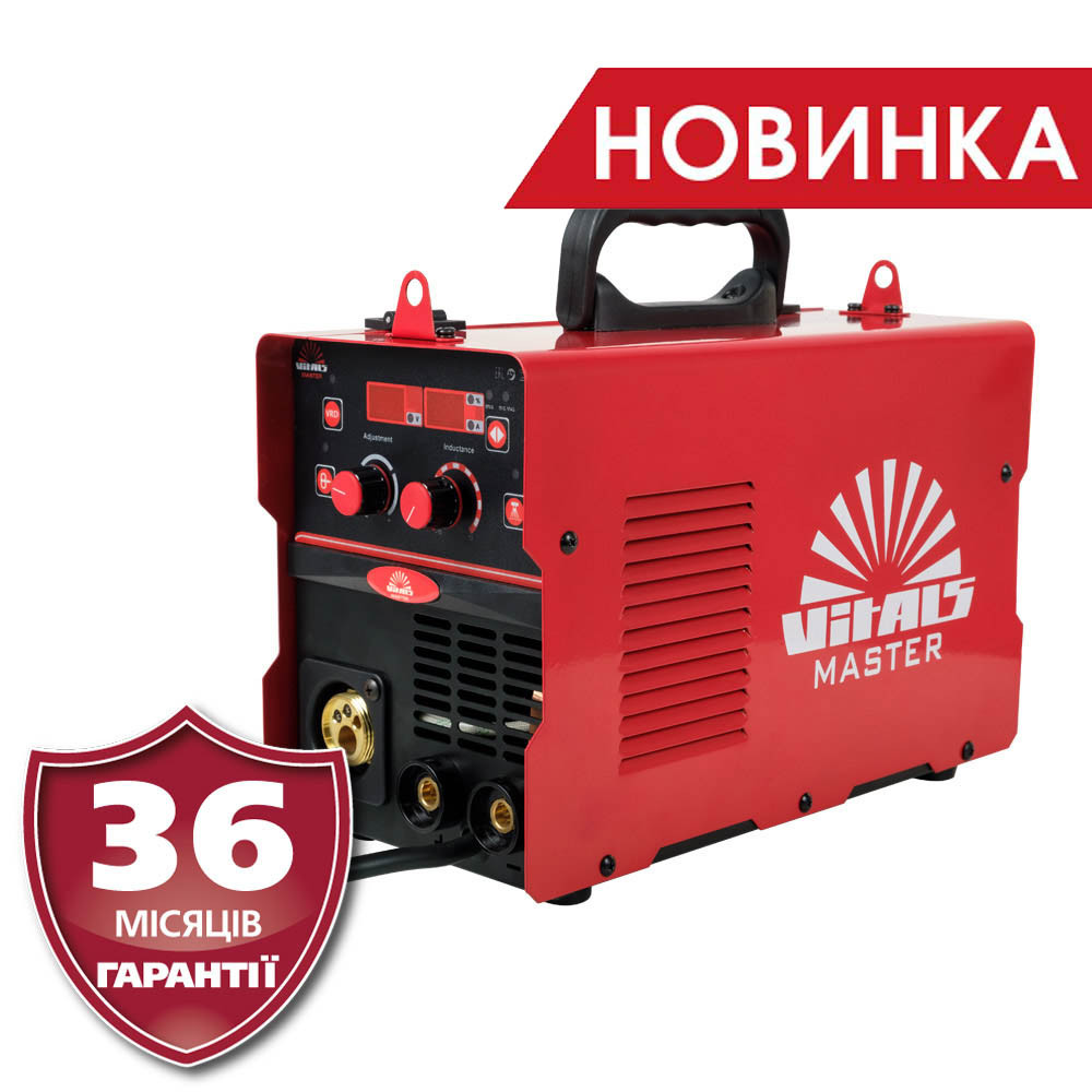 Сварочный полуавтомат/ инвертор MIG-MAG + MMA Латвия Vitals Master MIG 1400T Digital