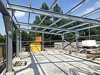 ЛСТК ( легкие стальные тонкостенные конструкции) +