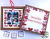 Memory box ,фото бокс, коробочка з вашими фото на 9 фотографій. Подарунок мамі,тату, коханому, коханій, фото 2