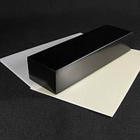 Брусок Микарта для рукоятки ножа № 95040 черный. синт.ткань, 25х40х130 мм.