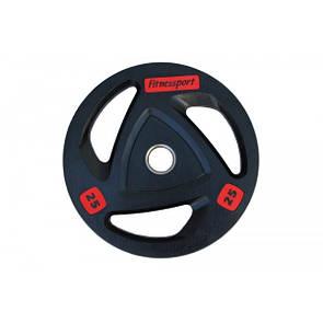 Блин (диск) для штанги обрезиненный 25 кг (52 мм)
