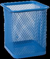 Стакан для ручек Buromax металлический синий