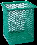 Стакан для ручек Buromax металлический зелёный