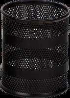 Стакан для ручек Buromax металлический чёрный