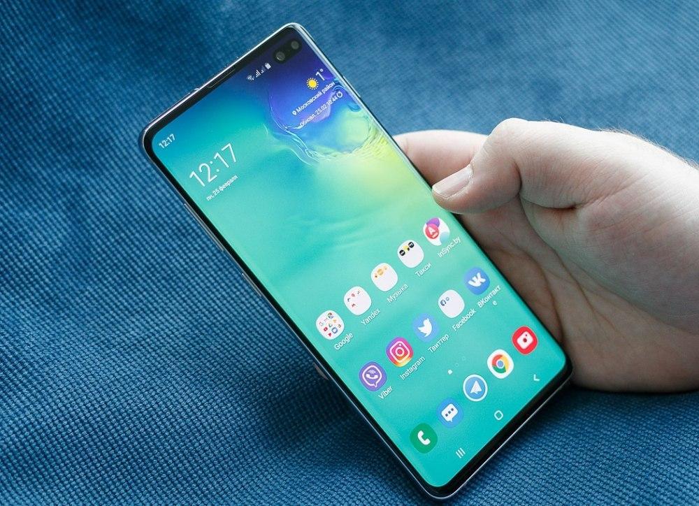Корейская копия Samsung Galaxy S10+ (Безрамочный экран)