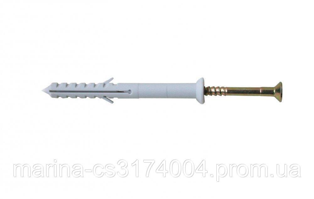 Дюбель з шурупом 10х160 мм 50шт, (потайн) Про Преміум