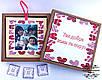 Подарункова коробочка з вашими фотографіями (18шт). Memory box .Подарунок на День народження,ювілей,річницю, фото 2