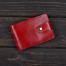 Візитниця 2.0 Fisher Gifts VIP алькор червоний (шкіра)