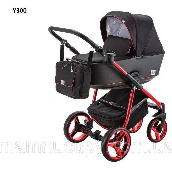 Универсальная коляска 2 в 1 Adamex Reggio Limited Chrom Y300