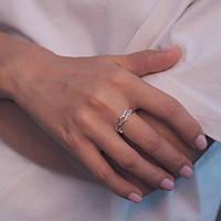 Золотая лаврушка - серебряное кольцо