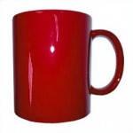 Кружка хамелеон красная для сублимации, 310 мл.
