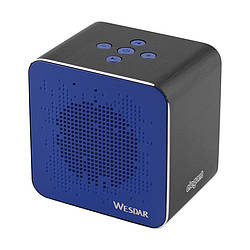 Колонка Bluetooth Wesdar K31 Black/Blue