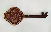 "Резная вешалка для ключей (ключница) ""Герб Полтавы"" 366х150х18 мм, фото 1"