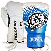Боксерские перчатки соревновательные Joya Kick-Boxing Glove Proffeshional On Laces