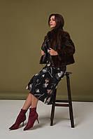 Норковая шуба женская автоледи 46 48 размеры, фото 1