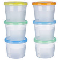 Набор контейнеров пластиковых для пищевых продуктов 3шт/наб 1,1л PT-83122
