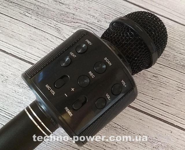Караоке-микрофон bluetooth WS858