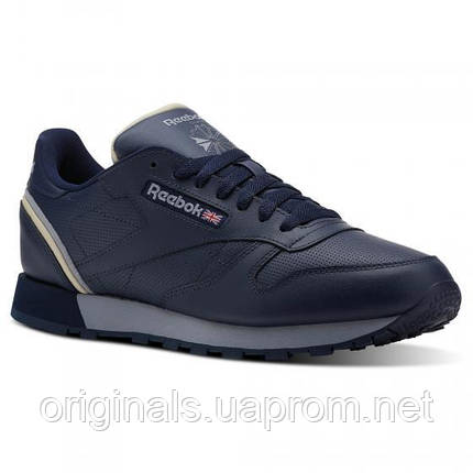 Кожаные кроссовки Reebok Classic Leather CN3642 мужские, фото 2