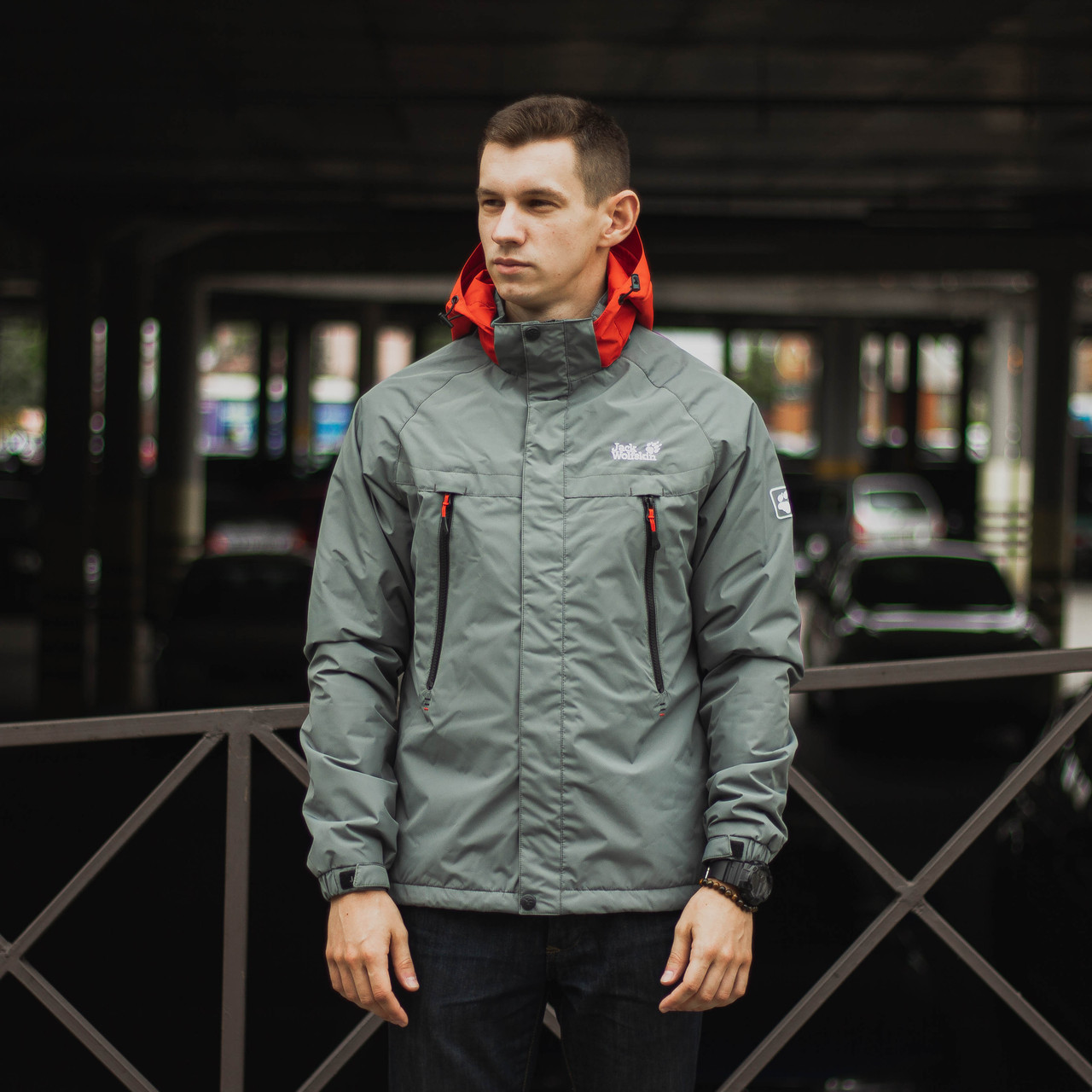 Демисезонная куртка мужская модель Jack Wolfskin размер M, L, XL, XXL