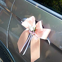 """Украшение на ручку свадебного авто """"Нежность"""", фото 2"""