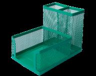 Набор настольный Buromax металлический зелёный