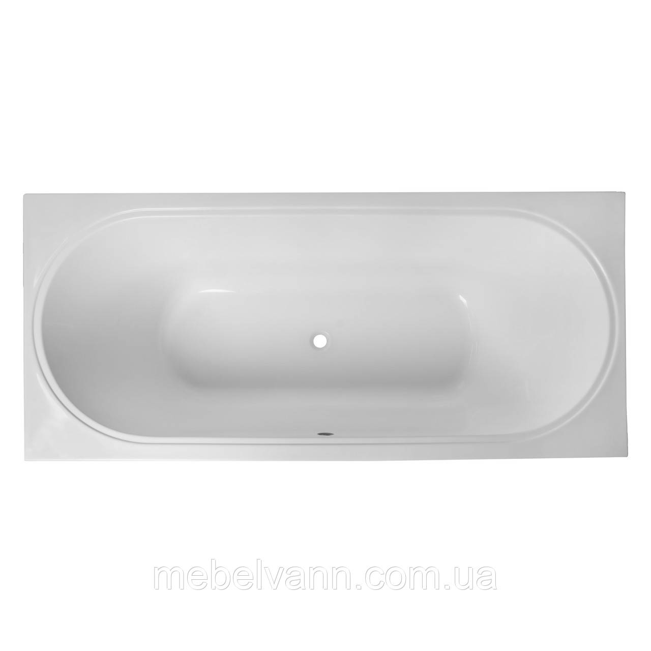 Ванна акриловая Volle Oliva 180*80 TS-1880500