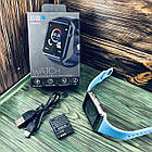 Умные часы Smart Watch A1 Синий, фото 2