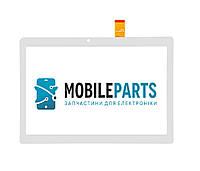 Сенсор (Тачскрин) для планшета Bravis NB106 3G | NB107 (237*137) DH-1079A1 (Белый) Оригинал Китай