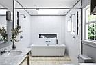 Плитка для стен Satin белый матовый 300x600 мм., фото 6
