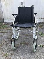 Американская инвалидная коляска Breezy ширина сидения 42 см.  б у в хорошем состоянии без подножек