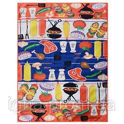 Полотенце кухонное микрофибра 12шт/пак 40*60см N02339 (600шт)