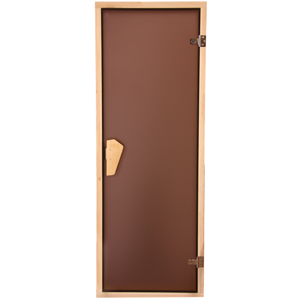 Дверь для сауны, бани . Sateen (Матовая) 205 * 80