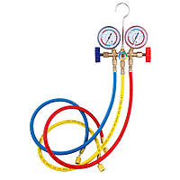 Набор инструмента для заправки авто кондиционера R12 R22 R404A R134A комплект