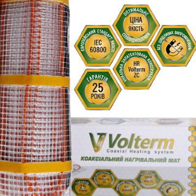 Мат нагревательный Volterm Classic Mat 1900