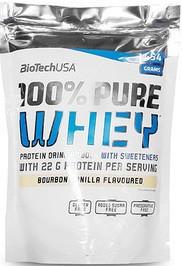 Протеин BioTech USA,100% Pure Whey 454 г бурбон-ваниль