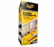 Двухшаговый набор для восстановления и защиты пластиковых фар Meguiar's G2970 Two Step Headlight Restoration K