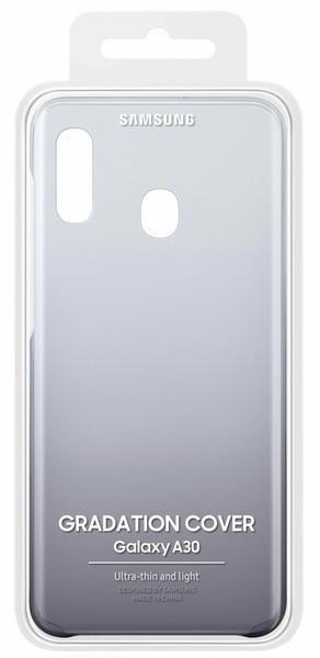 Samsung Gradation Cover оригинальная накладка для Galaxy A30 Black