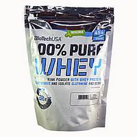 Протеин BioTech USA,100% Pure Whey 454 г шоколад - арахисовое масло