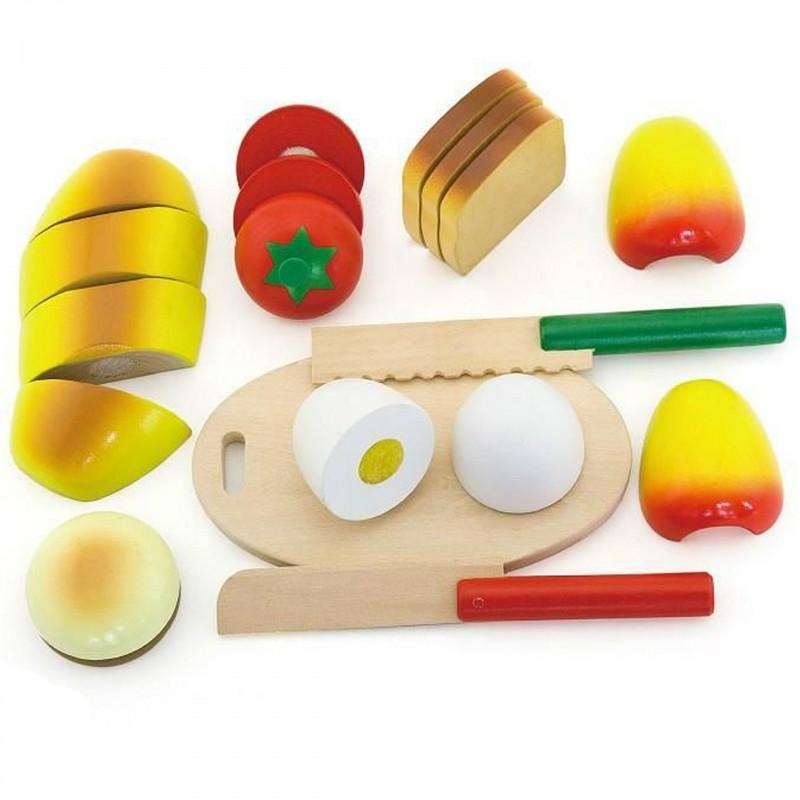 Продукты деревянные Завтрак Viga 56219