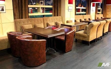 М'які диванчики для кафе