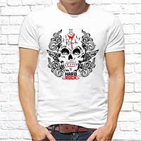 """Мужская футболка Push IT с принтом Череп """"I love rock"""""""
