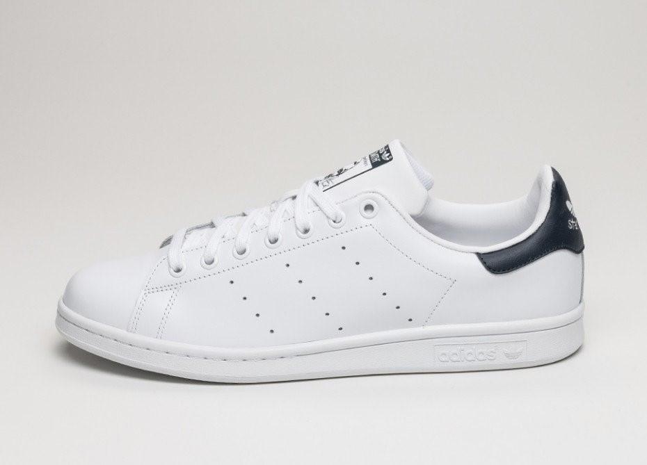 "Кроссовки Adidas Stan Smith ""White/Black"" (Белые/Черные)"